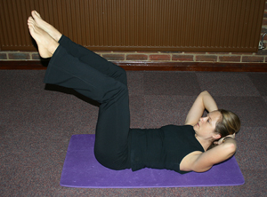 Pilates exercise 1